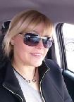 Blondine Handjob im Auto